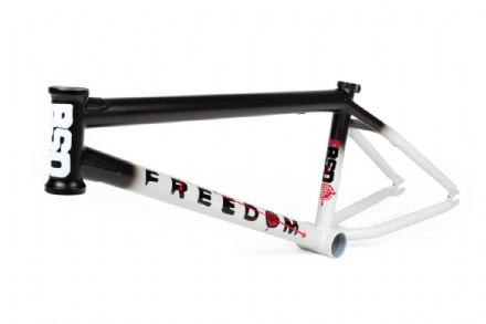 BSD Freedom Frame - 21.5 - Black / White Fade